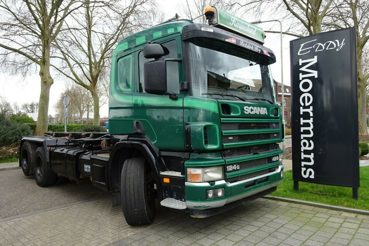 cable system truck Scania P 124G 420 6x2