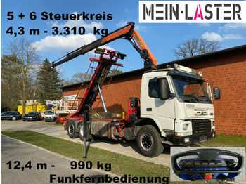 Cable system truck Volvo FM 12-420 PK 16502 C 12m - 1.000 kg Funk FB