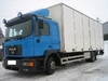 MAN 14.280 skap full side closed box truck