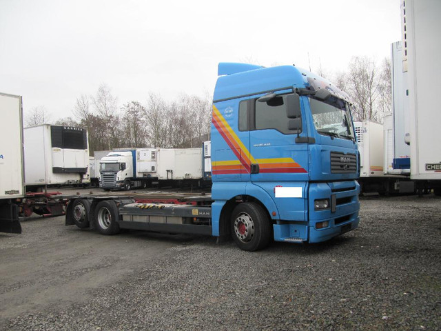 container transporter swap body truck man tga 26 440 bdf hydr hub senksyst euro 4 picture 1. Black Bedroom Furniture Sets. Home Design Ideas