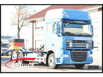 Container transporter/ swap body truck DAF 105.460 SSC Dachser Mulitwechsler 7.45 u 7.82 WB