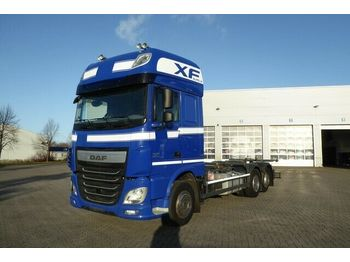 Container transporter/ swap body truck DAF 106.510 BDF 6x2, ZF Intarder., Sky ligths