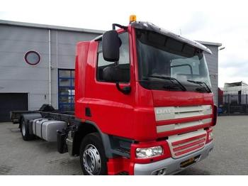 Container transporter/ swap body truck DAF CF75-250 / AUTOMATIC / EURO-5 / DAYCAB / 2010: picture 1
