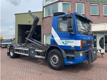 DAF CF75-250 EURO2 HOOKSYSTEM FULL STEEL HOLLAND TRUCK!!!!!!!! - container transporter/ swap body truck