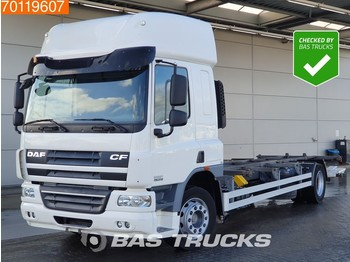 Container transporter/ swap body truck DAF CF75.310 4X2 Original-KM! German-Truck Ladebordwand Euro 5: picture 1