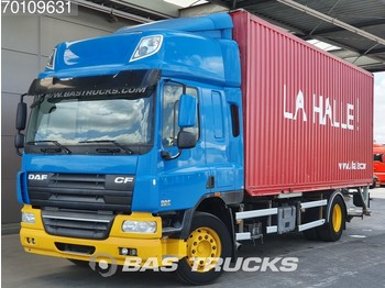 Container transporter/ swap body truck DAF CF75.360 4X2 Manual Intarder Ladebordwand Euro 5