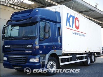 Container transporter/ swap body truck DAF CF85.360 6X2 30ft Liftachse Ladebordwand Euro 5