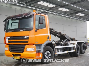 Container transporter/ swap body truck DAF CF85.380 6X2 Liftachse Euro 3