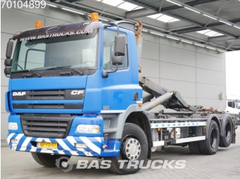 Container transporter/ swap body truck DAF CF85.380 6X2 Manual Liftachse Euro 3
