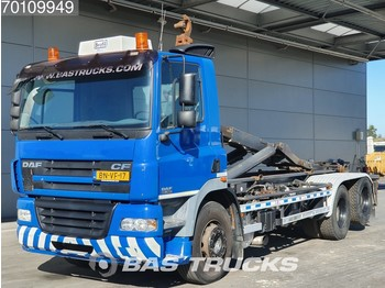 DAF CF85.380 6X2 Manual Liftachse Euro 3 - container transporter/ swap body truck