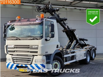Container transporter/ swap body truck DAF CF85.410 6X2 Manual Liftachse Euro 5
