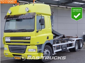 Container transporter/ swap body truck DAF CF85.430 6X2 NL-Truck SC Liftachse Euro 3