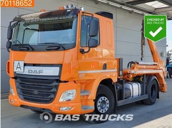 DAF CF 290 4X2 German-Truck Euro 6 Meiller Aufbau - container transporter/ swap body truck