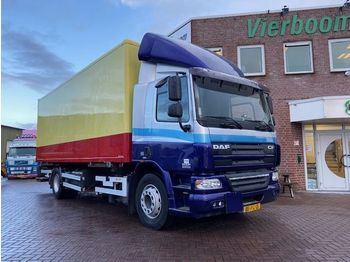 Container transporter/ swap body truck DAF CF 75.250 4X2 HOLLAND TRUCK LOW KM EURO5