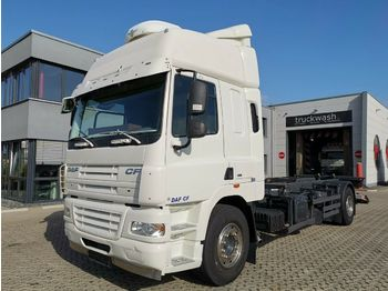 DAF CF 85.410 4x2 / Manual / Standklima / E5  - container transporter/ swap body truck