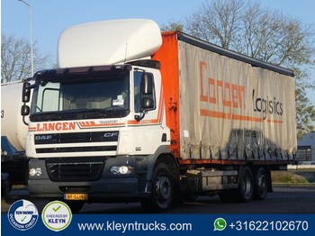 Container transporter/ swap body truck DAF CF 85.410 6x2 far e5 manual