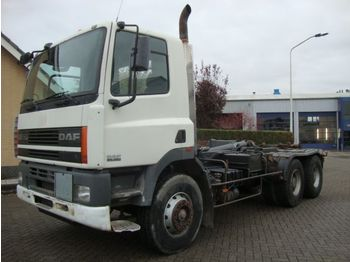 Container transporter/ swap body truck DAF DAF85CF380 6X4 STEEL SPRINGS