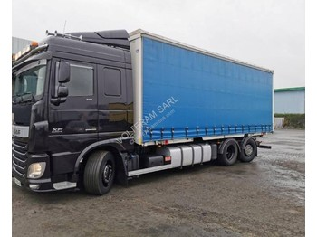 Container transporter/ swap body truck DAF DAF XF FAN 510: picture 1