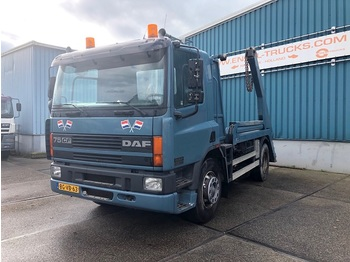 DAF FA75-290CF FULL STEEL CONTAINER TRUCK (EURO 2 / FULL STEEL SUSPENSION / ZF MANUAL GEARBOX) - container transporter/ swap body truck