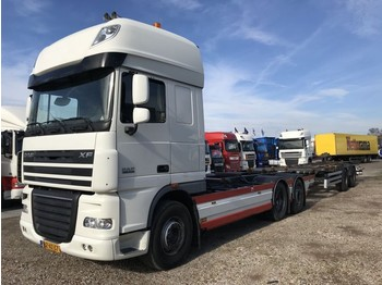 Container transporter/ swap body truck DAF FAN XF 105.410 EURO 5