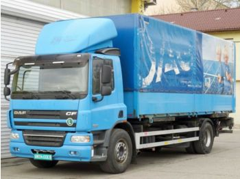 Container transporter/ swap body truck DAF FA CF 75.360, BDF, Euro-5: picture 1