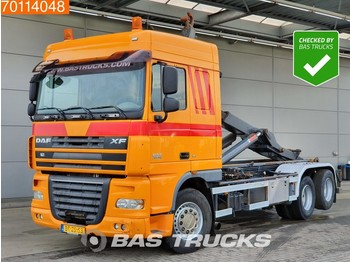 Container transporter/ swap body truck DAF XF105.460 6X2 Nl-Truck Manual Liftachse Euro 5