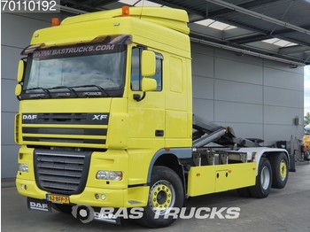 Container transporter/ swap body truck DAF XF105.460 6X2 Steering-axle Perfect-Condtion! Euro 5 Intarder