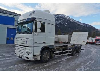 DAF XF105.460 6x2 Chassis with lifting limb  - container transporter/ swap body truck