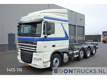 DAF XF105.460 8x2 | EURO 5 * 20ft CONTAINERFRAME - container transporter/ swap body truck