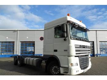 Container transporter/ swap body truck DAF XF105-510 Spacecab Manual Retarder 6x2/4 Hub-reduc: picture 1
