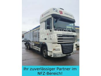 Container transporter/ swap body truck DAF XF 105 460 BDF EEV alle Brücken  el. Hubrahmen