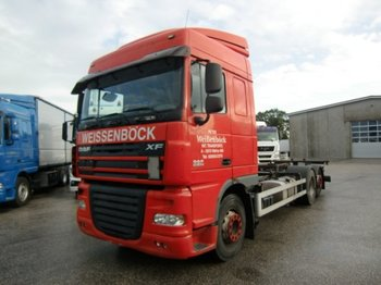 DAF XF 105.460 SC  BDF, Automatic, VEB, E5 - container transporter/ swap body truck