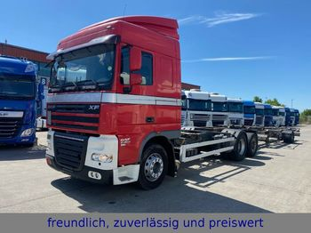 DAF * XF 105.460 * SPACE CAP *EURO 5 * LIFT *ANHÄNGE  - container transporter/ swap body truck