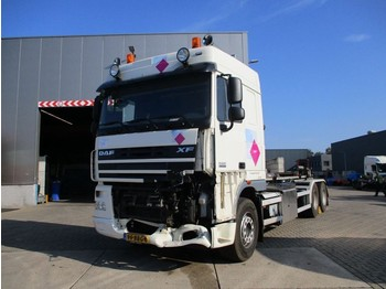 DAF XF 105 460 SpaceCap Euro5 *VDL Haaksysteem* - container transporter/ swap body truck