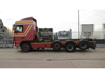 Container transporter/ swap body truck DAF XF 105.510 8X2 CONTAINER TRANSPORT MANUAL GEARBOX