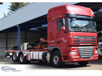 DAF XF 105 - 510, Retarder, Super Space Cab - container transporter/ swap body truck