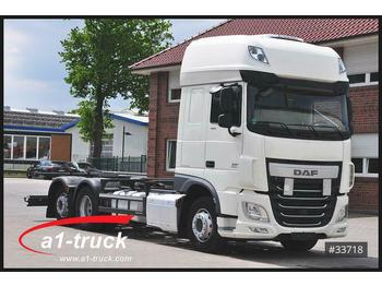 DAF XF 106.440 SSC, BDF, ZF-Intarder, Standklima  - container transporter/ swap body truck