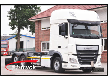 Container transporter/ swap body truck DAF XF 106.460 SSC, BDF, ZF-Intarder, Euro6: picture 1