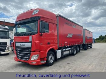 DAF * XF 440 * RATARDER * ACC  + KÖGEL ANHÄNGER *  - container transporter/ swap body truck