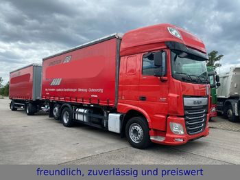 DAF * XF 440 * RATARDER * ACC * LIFTACHSE * TOP ZUST  - container transporter/ swap body truck