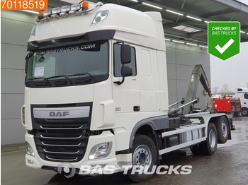 DAF XF 460 6X2 AJK Intarder Belgian-Registration ACC Euro 6 - container transporter/ swap body truck