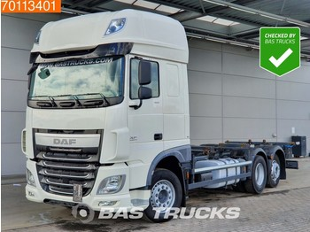 Container transporter/ swap body truck DAF XF 460 6X2 Intarder Liftachse ACC SCC Euro 6