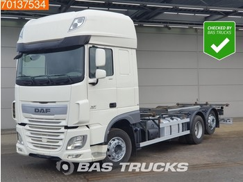 DAF XF 460 6X2 SSC Intarder ACC Liftachse 2x Tanks 20ft. Euro 6 - container transporter/ swap body truck