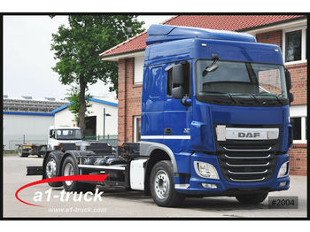 Container transporter/ swap body truck DAF XF 460 FAR SC, Intarder, Standklima Reifen 100%: picture 1