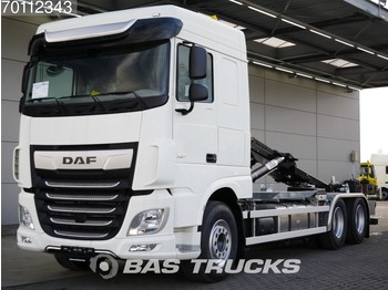 DAF XF 480 6X2 NEW! HYVA 26-tons Hooklift Full Safety Options! - container transporter/ swap body truck