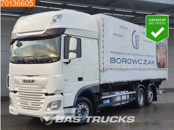 DAF XF 480 6X2 SSC Intarder Liftachse Ladebordwand Euro 6 - container transporter/ swap body truck