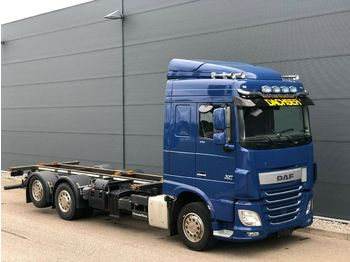 Container transporter/ swap body truck DAF XF 510 FAN