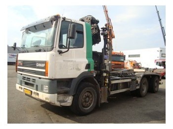 Ginaf M3232-S 6X4 - container transporter/ swap body truck
