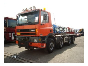 Ginaf M4243-S 8X4 - container transporter/ swap body truck