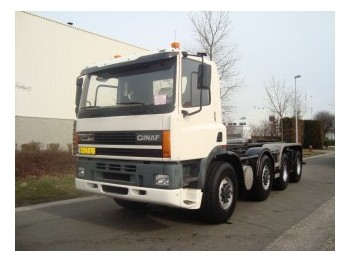 Ginaf M4243-TS   8X4 - container transporter/ swap body truck